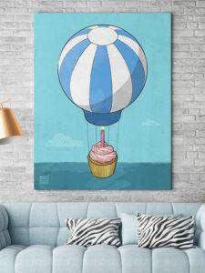 Flying Cupcake