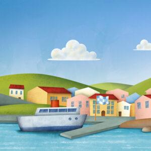 Illustrazione Porto Santo Stefano